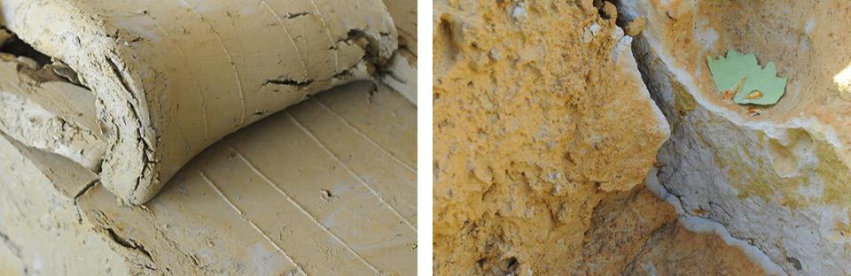Das Material: Lösslehm und Seeton