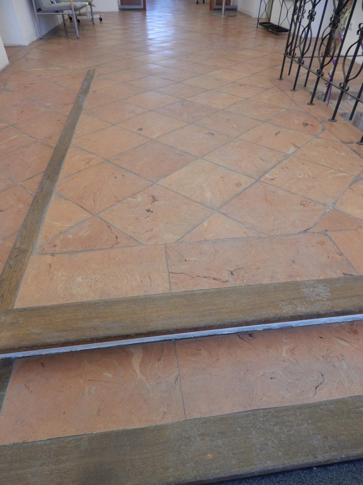 Bodenziegel, diagonal